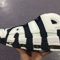 Nike Air More Uptempo 96 Scottie Pippen Navy/White Basketball Shoes Size US5.5-12