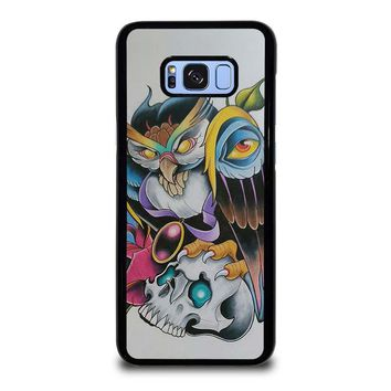SUGAR SCHOOL OWL TATTOO Samsung Galaxy S8 Plus Case Cover