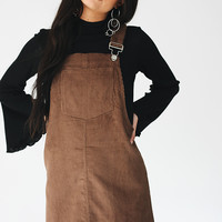 Hysterical Heat Cord Overall Dress