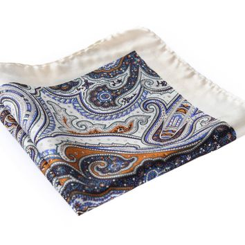 100% Natural Silk Pocket Square