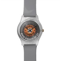 Vinyl Junkie - And Proud of It Wrist Watches