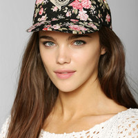 OBEY Floral Snapback Hat - Urban Outfitters