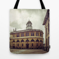 Oxford: Sheldonian Theater Tote Bag by Architect´s Eye | Society6