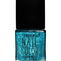 Teal Sparkle Nail Polish