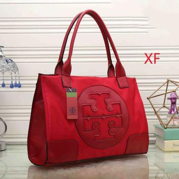 Day-First™ Tory Burch Women Leather Flower Print Shopping Tote Handbag Shoulder Bag I-MYJSY-BB