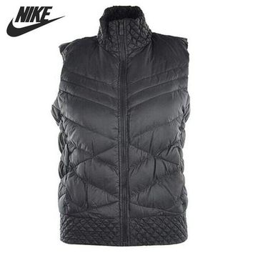 LMFON Original NIKE Women's Down coat Vest Warm down jacket Sportswear