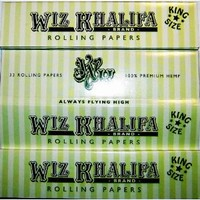 WIZ KHALIFA Cigarette Rolling Papers KING SIZE VERY HARD TO FIND! RARE KING SIZE TGOD 1 Pack Wiz King
