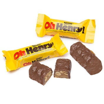 Oh Henry Fun Size Candy Bars: 12-Piece Bag
