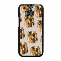 pugs burger case for htc one m8 m9 xperia ipod touch nexus