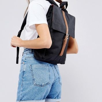 Herschel Supply Co City Backpack in Black at asos.com