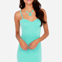 Sweetheart To Get Mint Dress
