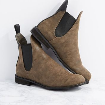 Lorraine Gored Chelsea Boot by GuiltySoles | Booties | rue21