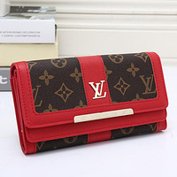 LV Women Leather Wallet Purse-3