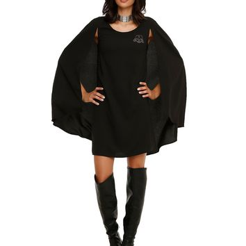 Licensed cool STAR WARS DARTH VADER HIGH FASHION COSPLAY CAPE DRESS HER UNIVERSE  SHIP S