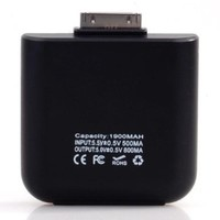 Emergency Back Up Portable Charger for iPhone iPod 1900mAh