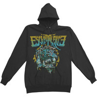 Escape The Fate Men's  Stressed Hooded Sweatshirt Black Rockabilia
