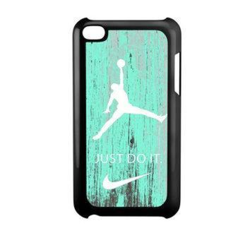 DCKL9 Nike Jordan Mint Wood iPod Touch 4 Case