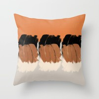 Modern minimal 03 Throw Pillow by naturalcolors