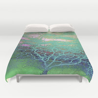 Tree of Life Duvet Cover by ALLY COXON