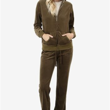 Velour Suits - Relaxed Fit - 7 Colors!