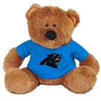 Carolina Panthers Traditional Plush Bear - Carolina Blue