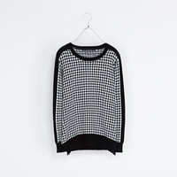 TWEED SWEATER - Knitwear - Woman | ZARA Germany