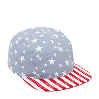 American Flag Five-Panel Hat