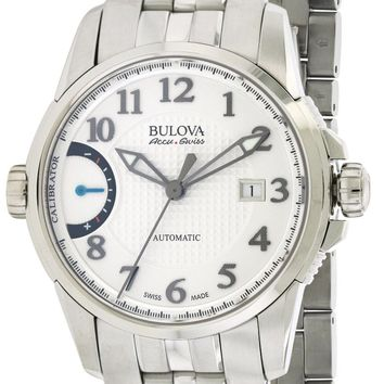 Bulova AccuSwiss Calibrator Automatic Watch 63B172
