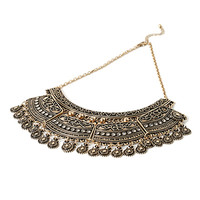 Tiered Statement Necklace