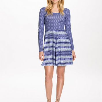 Printed Skater Dress, NLY Trend