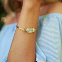 Pretty Please Pave Bracelet