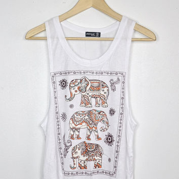 Tribal Elephants Tank