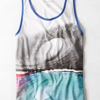 AEO Men's Photo Real Tank (White)