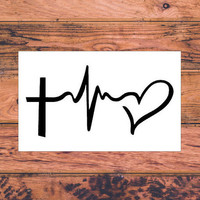 Faith Hope Love | Christian Car Decal | Faith Hope Love Decal | Christian Family Decal | Christ First Decal | Christ Life Car Decal  | 271