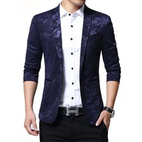 Brand Blazer Men  Casual Slim