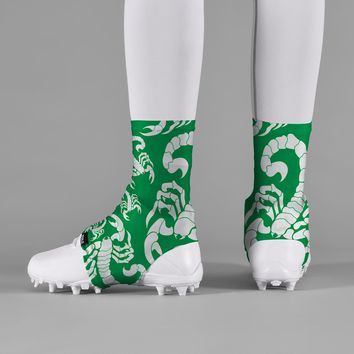Scorpion Green Spats / Cleat Covers