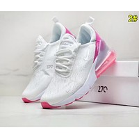 NIKE AIR MAX 270 Hot Sale Women Men Personality Air Cushion Running Sport Shoes Sneakers 2#