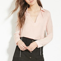 Contemporary Satin Blouse