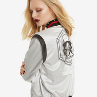 Her Universe Star Wars Captain Phasma Satin Bomber Jacket