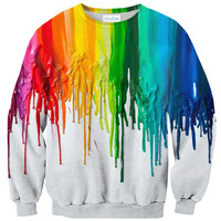 Melted Crayon Sweater