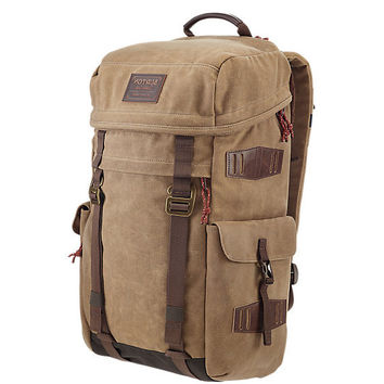 Burton - Annex Beagle Brown Waxed Canvas Backpack