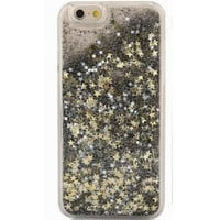 Pixie Dust Gold & Silver Stars Glitter Case For iPhone 5 5s, 6 4.7""