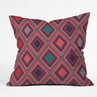 Vy La Eastern Diamond Throw Pillow