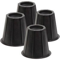 """Honey-can-do 6"""" Round Bed Risers Set Of 4"""