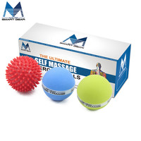 Crossfit Massage Ball Gym Home Exercise Solid Ball Relax Body Gym Ball Lacrosse Ball