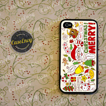 Fun & Whimsical Christmas Phone Case! Choose iPhone 4 / 4s / 5 / 5s or Galaxy S3 / S4
