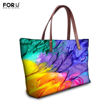Brand Graffiti Design Handbag for Women High Quality Causal Tote Bag Spanish Desigual Bag Crossbody Shoulder Bag bolsos mujer