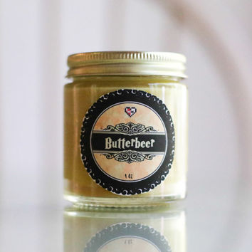 Butterbeer Soy Blend Candle (4 oz)