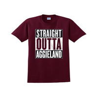 'Straight Outta Texas A&M' Tee