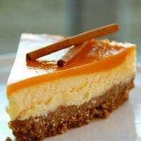 Food, Photography and a Piece of Me...: Mango Cinnamon Cheesecake